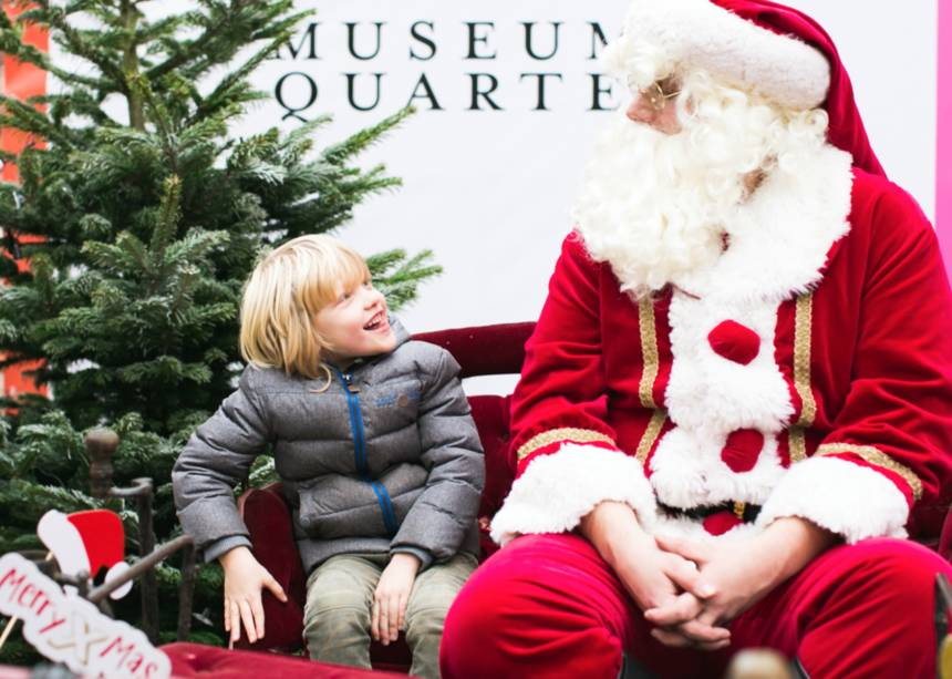 Museum Quarter Amsterdam - Santa Claus on Tour Museum Quarter Amsterdam