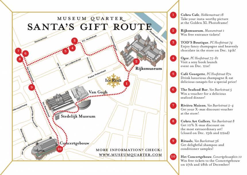 Museum Quarter Amsterdam - Santa's Gift Tour Museum Quarter Amsterdam