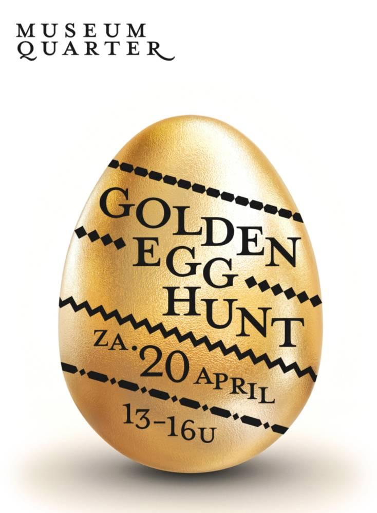 Museum Quarter Amsterdam - Golden Egg Hunt in Museum Quarter
